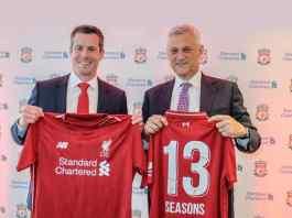 Liverpool principal sponsor Standard Chartered extend deal - InsideSport