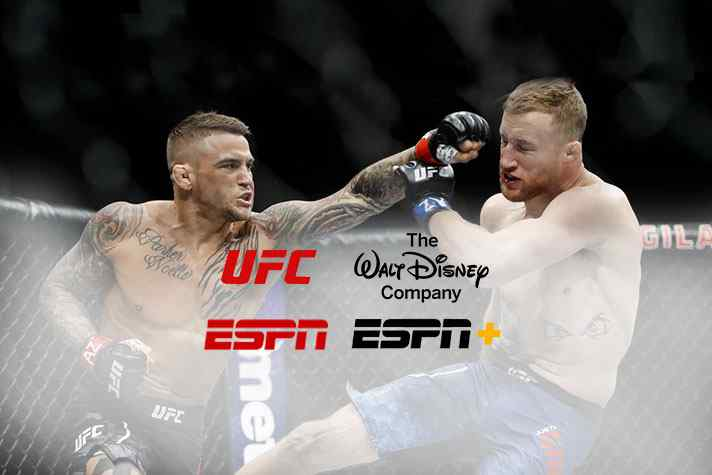 Disney, ESPN Strike UFC TV and Streaming Deal