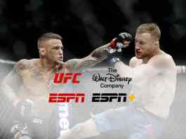 UFC strikes hard in multi-year ESPN+ deal with The Walt Disney Company - InsideSport
