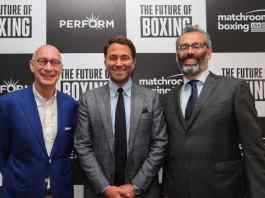 Perform Group and Matchroom announce $1 billion boxing deal - InsideSport