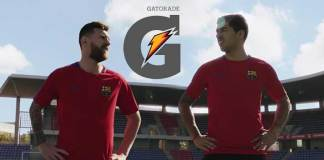 Lionel Messi and Luis Suarez in Gatorade TVC - InsideSport