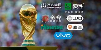 Chinese sponsors in FIFA World Cup 2018 - InsideSport