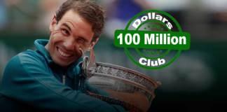 Rafael Nadal third to enter $100 million tennis star club - InsideSport