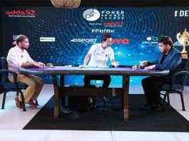 Vishwanathan Anand playing Poker during the season 2 of Poker Sports League - InsideSport