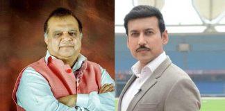 IOA President Dr. Narinder Dhruv Batra (left) and Minister of sports Rajyavardhan Singh Rathore (Right) - InsideSport