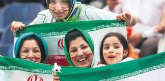 Iranian women football fans - InsideSport