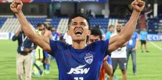 Sunil Chhetri extends contract with Bengaluru Fc