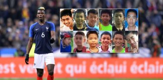 Paul Pgba dedicates victory to the rescued thailand boys