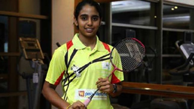 Indian Badminton Player Vaishnavi Reddy - InsideSport