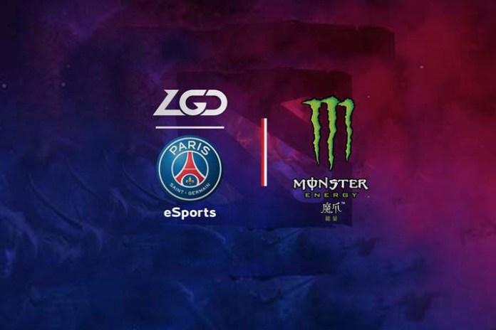 PSG esports team sponsorship,psg esports monster energy sponsorship deal,PSG sponsorship deal Monster Energy drinks,Monster Energy drinks Deal,French football giants Paris Saint-Germain