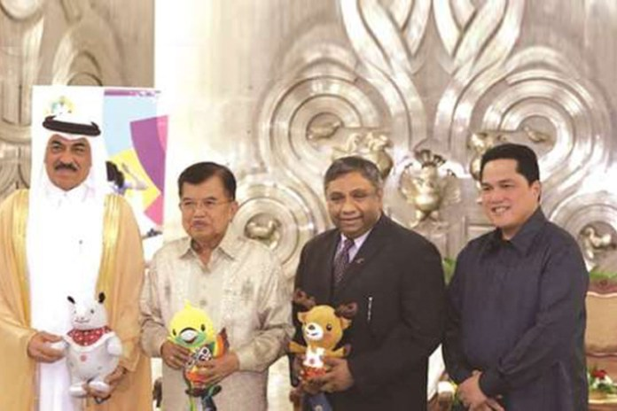 Qatar Airways partnership with Asian Games 2018,18th Asian Games 2018 Jakarta and Palembang,Asian Games 2018 partnership with Qatar Airways,Asian Games 2018 Qatar Airways,asian games 2018 organising committee