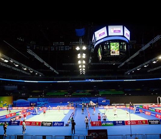 BWF,Badminton World Federation,Kiss Cam,BWF World Championship,Badminton Kiss cam