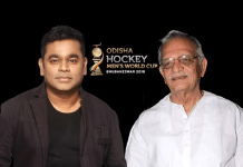 odisha hockey men's world cup bhubaneswar 2018,AR Rahman, Gulzar song,Odisha Hockey Men's World Cup 2018 Official Song,Odisha Hockey Men's World Cup,Official Song Odisha Hockey Men's World Cup 2018