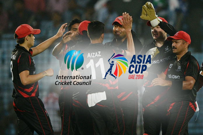 icc cricket world cup,cricket world cup,hong kong odi status,Asia Cup,asia cup 2018