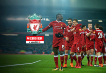 Verbier Resorts official alpine destination partner of Liverpool FC