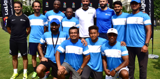 football schools in delhi,robert pires LaLiga Football Schools Ambassador,laliga football academy,laliga India football academy,laliga football schools