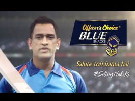 MS Dhoni Officers Choice Blue Snacks,Officers Choice Blue Snacks TVC,Dhoni New TVC Officers Choice Blue,Dhoni TVC Campaign,Mahendra Singh Dhoni Brand Ambassador