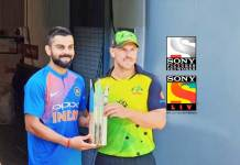 India Australia Series Sponsors,Sony Pictures Network India,India vs Australia Series,India vs Australia T20 Series,India vs Australia Series Sony Liv