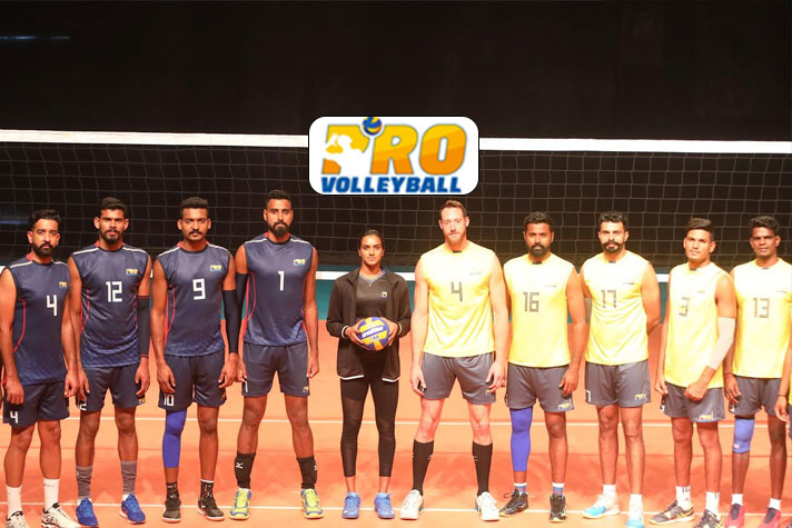 Pro Volleyball League: Sindhu, US star David Lee star in promotional video