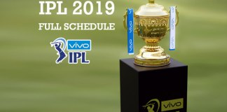 BCCI,IPL 2019 Schedule full,IPL Schedule,Indian Premier League,IPL 2019 full Schedule