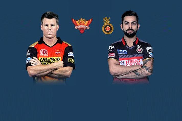 IPL 2019 Live SunRisers Hyderabad vs Royal Challengers Bangalore: Catch the live action
