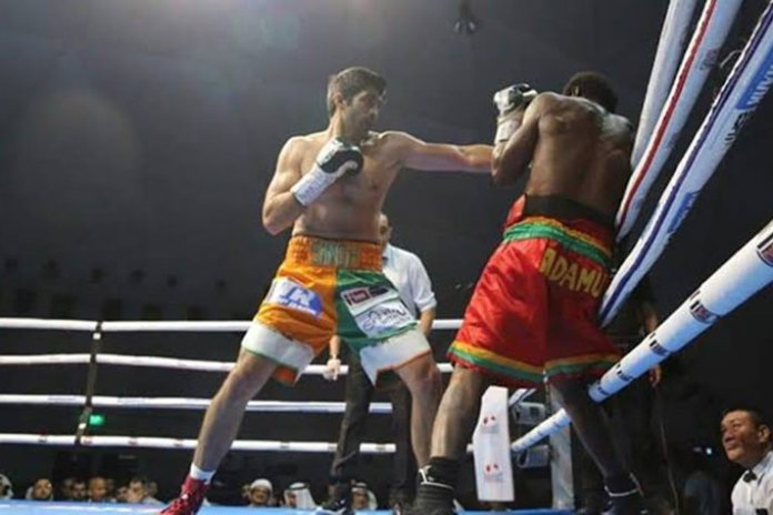 Rotunda Rumble 2,Vijender Singh,Vijender Singh vs Charles Adamu,Rotunda Rumble 2 results,Indian Boxer