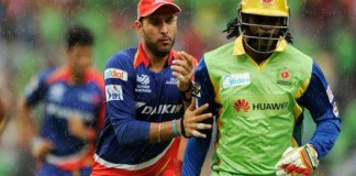 Yuvraj Singh,Ultimate Kricket Challenge,Chris Gayle,Cage Cricket,Andre Russell