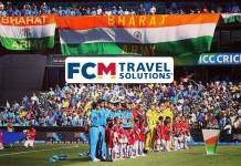 FCM Travel Solutions,ICC T20 World Cups,Bharat Army Travel,T20 World Cup,Sports Business News