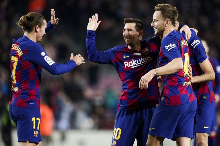 Photo of La Liga Live : Messi scores as FC Barcelona thrashes Real Mallorca