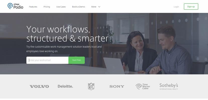 Podio - إدارة المشاريع وبرامج التعاون