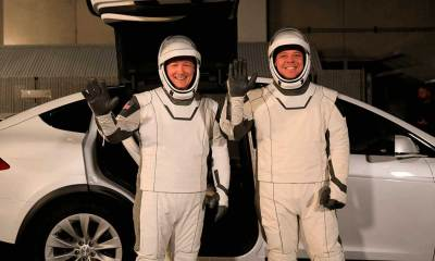 No astrovans for SpaceX
