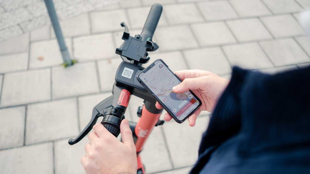 E-scooters Ericsson Arkessa