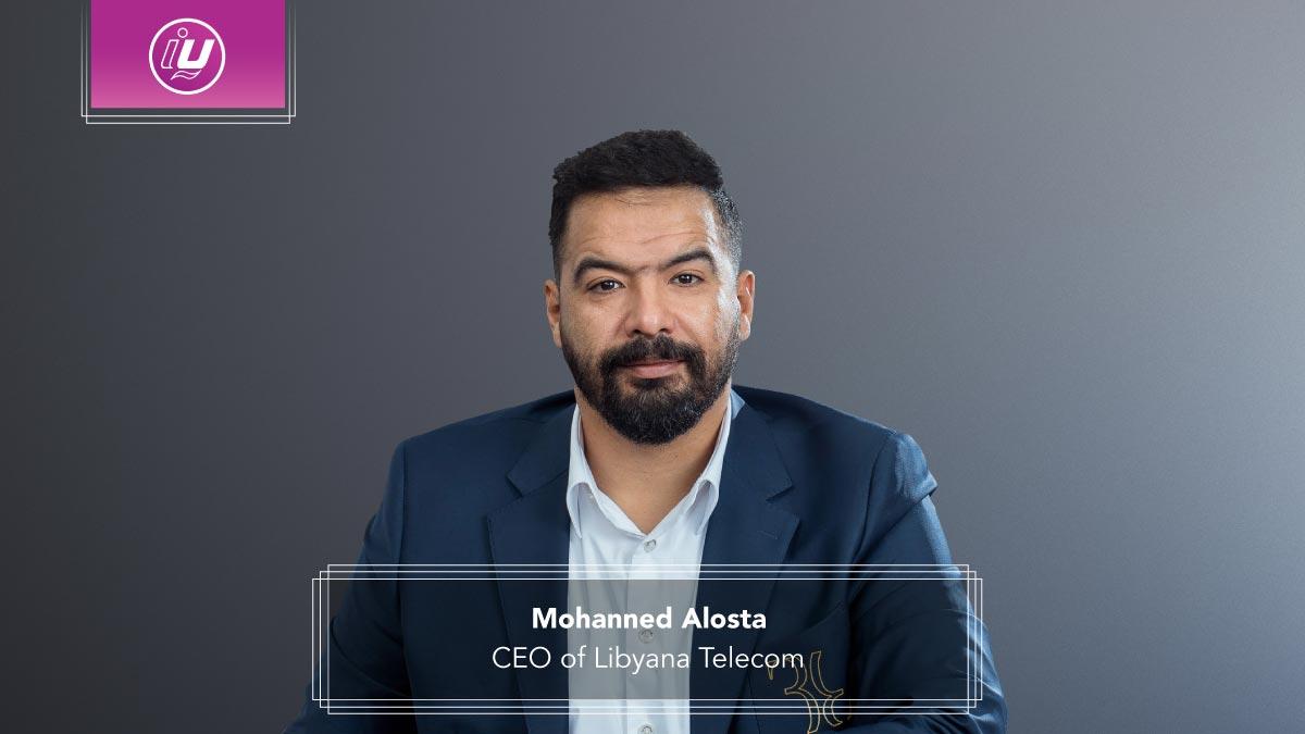 Mohanned Alosta CEO of Libyana Telecom
