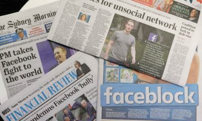 Australian leader urges Facebook to lift its news blockade