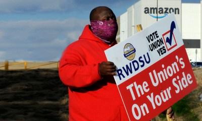 Black Lives Matter backs Amazon union push in Alabama
