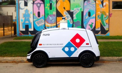 autonomous pizza delivery