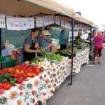 Produce at Brownwood Farmers Market