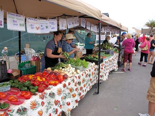Produce at Brownwood Farmers Market