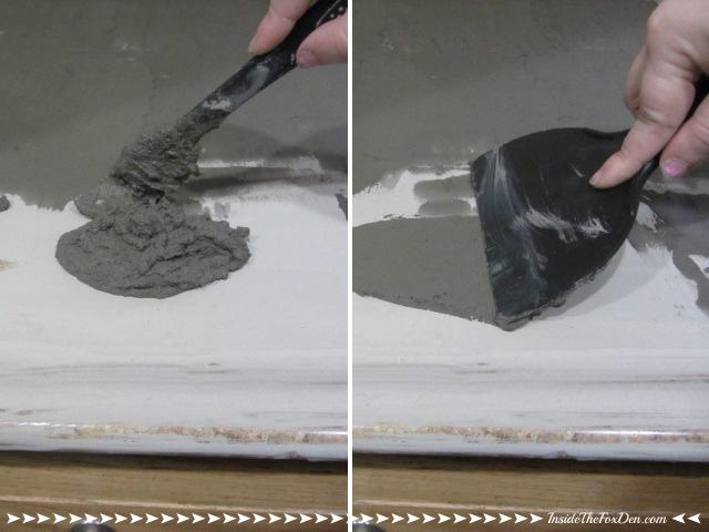 DIY Concrete Countertops | Inside the Fox Den
