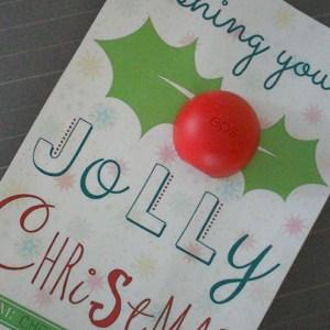 Holly Jolly EOS Lip Balm Stocking Stuffer