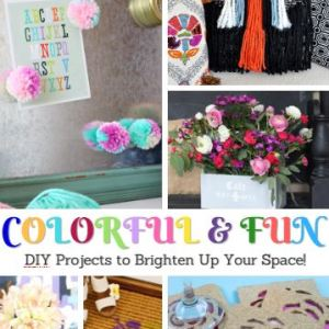 Colorful & Fun DIY Projects