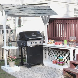 DIY Grillzebo with GAF Roofing Shingles