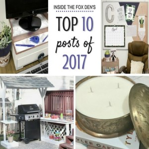 Top Ten Posts of 2017 and Goals for 2018