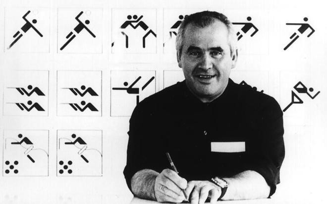 It was designer Otl Aicher who helped play a crucial role in the creation of Waldi for Munich 1972 ©Getty Images