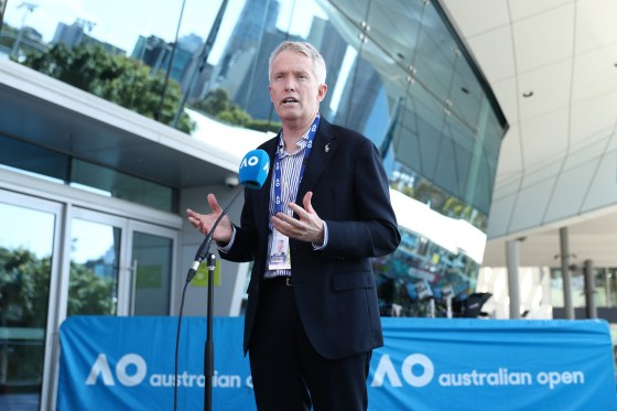 Australian Tennis chief executive Craig Tiley has warned that the COVID-19 protocol for Tokyo 2020 does not look tough enough © Getty Images