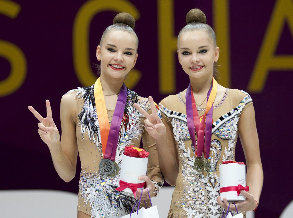 Russian Twins Dominate Gold Medals At European Rhythmic