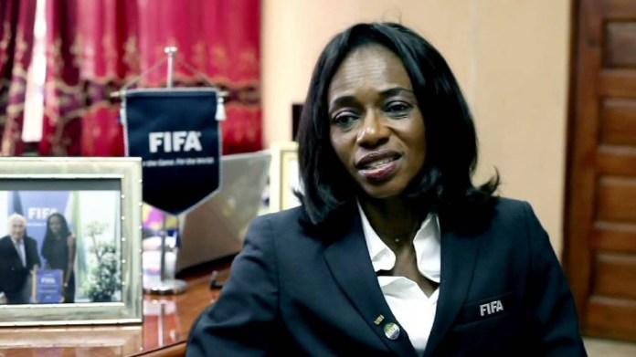 """Résultat de recherche d'images pour """"le president de la Sierra Leone Football Association (SLFA)"""""""