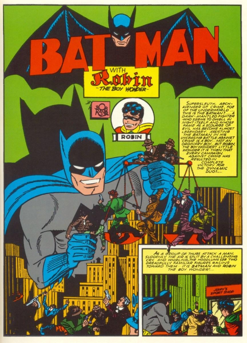 Batman 4-4 -1