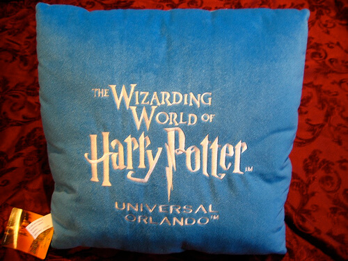 Hedwig Pillow (Back) $17.95