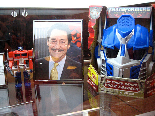 Transformers Hall of Fame inductee - Peter Cullen